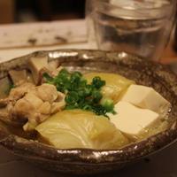 キャベツと鶏肉の水炊き/【music】Bloc Party