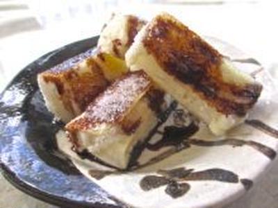醤油と砂糖のスイーツ餅/gateau de riz garni avec sucre&soya