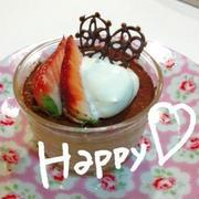 簡単美味しいチョコレートムース☆