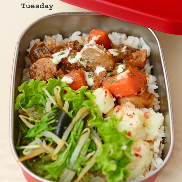 11月10日 火曜日 短角牛ときのこのビーフシチュー&粉ふき芋