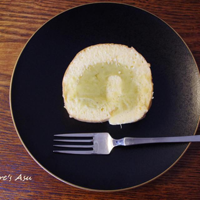 米粉のロールケーキ☆さつま芋クリームで