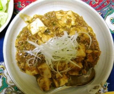 南蛮味噌で作った麻婆豆腐