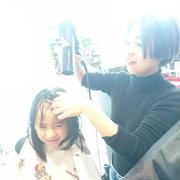 杏ちゃんと美容院に行きました~!!