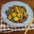 【ごはんが進む旬の甘辛レシピ】牛肉とさつまいも ごぼうの甘露煮