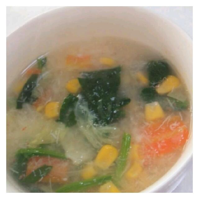 ★カニ缶の野菜スープ★