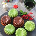 抹茶とマロンのチョココーティングクグロフ♪バレンタイン