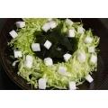 ≪わかめと はんぺんの淡雪サラダ≫