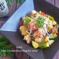 レモンでさっぱり♪ 鶏肉と夏野菜の炒め煮