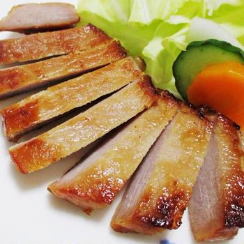 味噌漬け豚ロースのソテー<味わい絶妙♪>