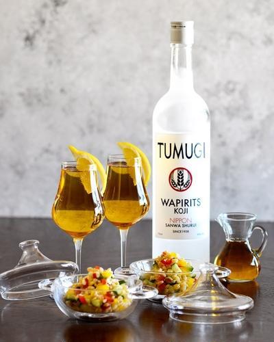 出汁とブルグルの夏サラダ♥麹のお酒で【*モロッコ *超簡単 *TUMUGI】手仕事5分+あとはほっとく。