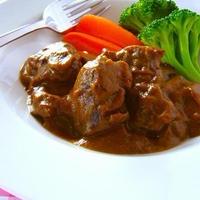 牛すね肉の赤ワイン煮♪ル・クルーゼでじっくりゆっくり煮込み料理 & サントリーHPにてレシピ掲載!
