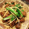 鶏レバーのレバニラ炒め