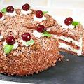 黒い森のさくらんぼケーキの作り方&プレゼントラッピング by HiroMaruさん