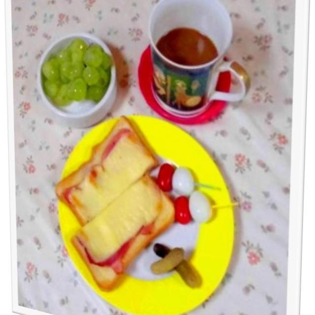 朝飯とランチ