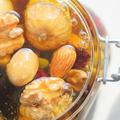 クマさんの 「お手軽アンチエイジング♪木の実とドライフルーツのハチミツ漬け♪」つくレポ!