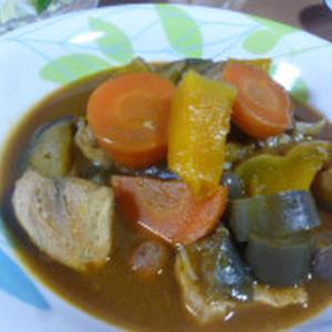 秋野菜のフィッシュスープカレー