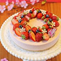 ひな祭りにも♪女子力高めな苺レアチーズケーキ4選!