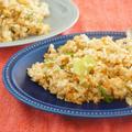 在宅楽飯♪鮭フレークとレタスのナンプラー炒飯