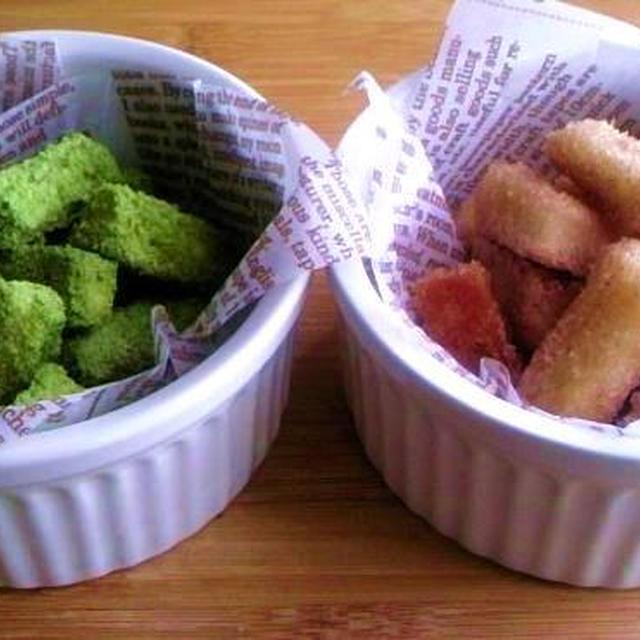 【レシピ】パン耳を活用 シナモン&抹茶ラスク