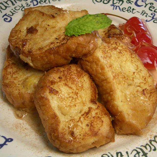 『豆乳バナナフレンチ』 豆乳バナナジュースで作るフレンチトースト