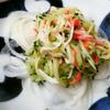 きゅうりとカニかまのサラダ
