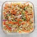 作り置きにも♪ソフトさきいか消費に!切り干し大根と色々野菜のサラダ