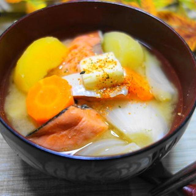 三平汁☆息子の入試合格発表日翌朝の朝食