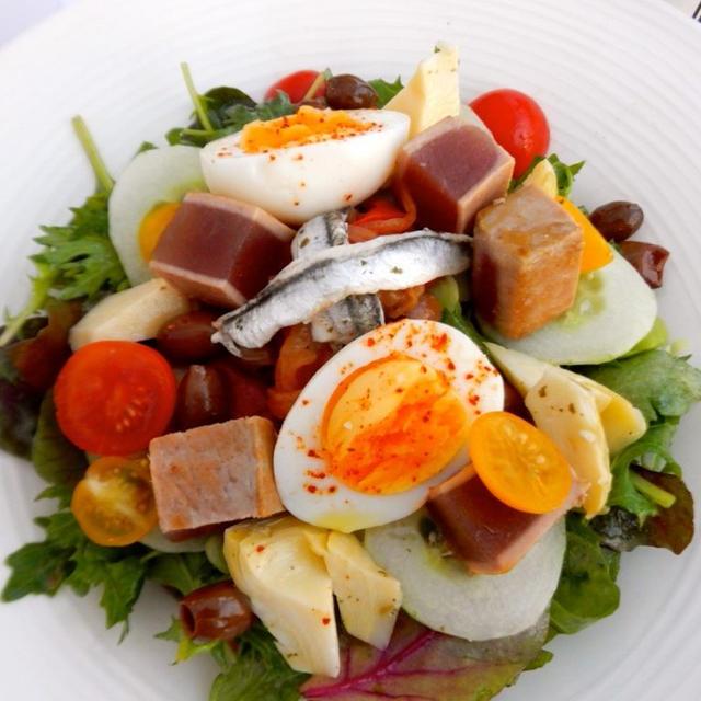 Salade Nicoise  南仏!サラダ・ニソワーズ