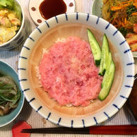 【初マトリッツォ&まぐろのたたき丼】
