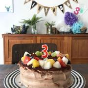 次女の3歳の誕生日でした。