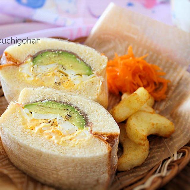 【久しぶりの手作り食パン】ふっくらサンドイッチの朝ごはん