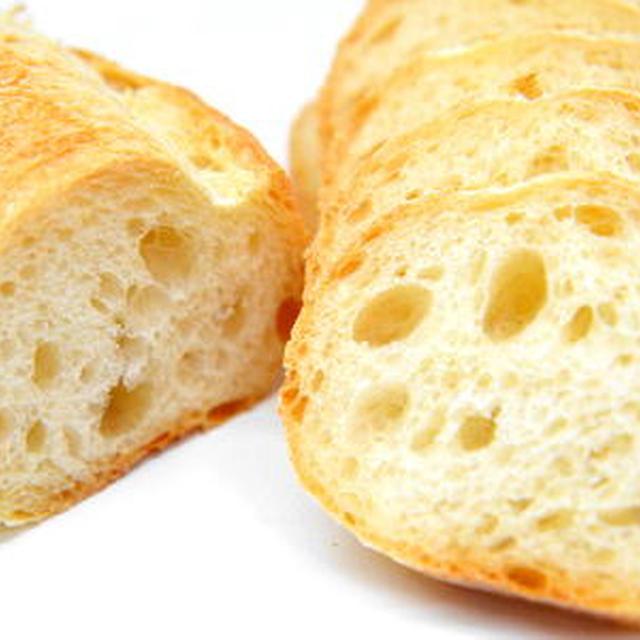 中種法で作るフランスパンの作り方(バタール)