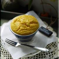 ナツメグ香る 南瓜と生ハムのチーズスフレ