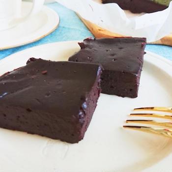 お豆腐で生チョコ風ケーキ?