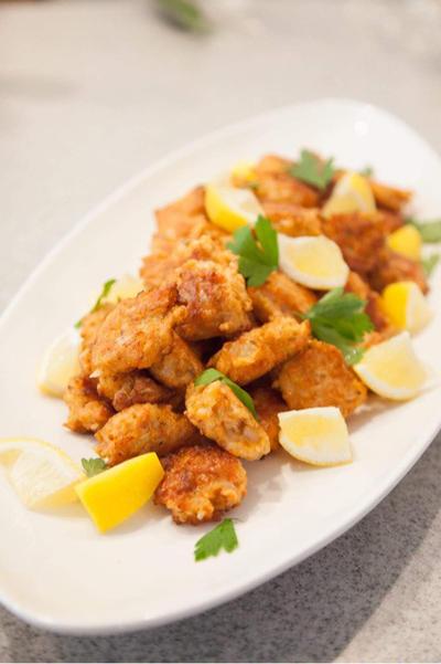 ★レシピ★ギリシャ風魚バーグ「サーモンのケフテデス」