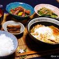 ご飯がすすむおかず <鶏肉と白菜のすき煮>