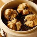 黒糖レーズン蒸しパン