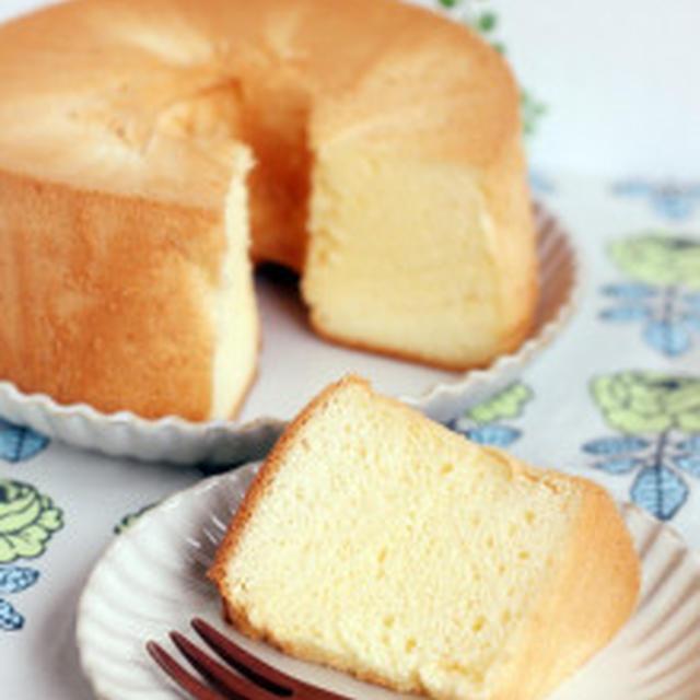 シフォンケーキ作ったのに。。。。笑