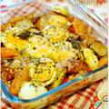 ☆お手軽ラタトゥイユと卵のオーブン焼き / 21日の朝ごはん☆ by Ayaさん