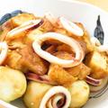 旨味たっぷり☆イカと里芋と厚揚げ煮