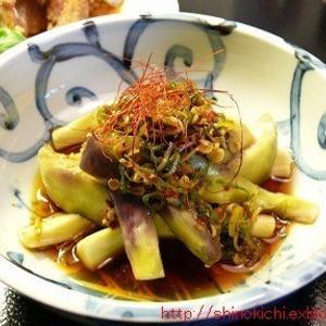レンチンで簡単♪ナスの中華風おかずでご飯がススム!