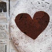 フライパンで濃厚レアチョコケーキ