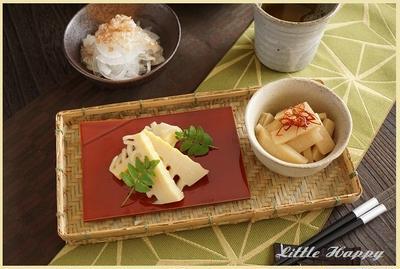 中華風味のタケノコ炒め(レシピ)