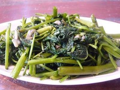 空芯菜のガーリック炒め レシピ