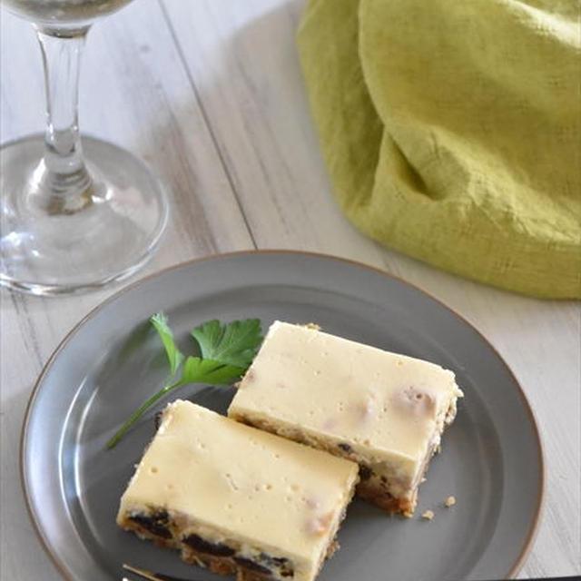 マイナビニュースでの連載更新しました♪第26回炊飯器で作る! - 簡単「レーズンとナッツのチーズケーキ」