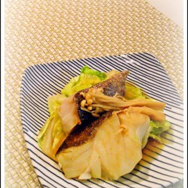 鱈とキャベツ蒸し煮と同時にもう1品