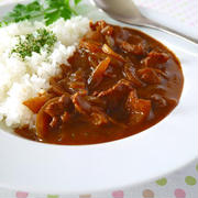昔ながらの洋食屋さんハヤシライス♪ 定番レシピをもっと簡単に!