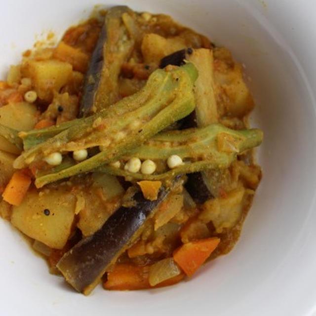 オクラとなすのベジカレー レシピ