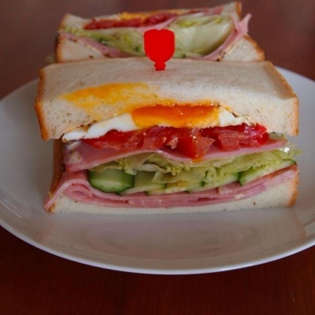 具沢山サントイッチ