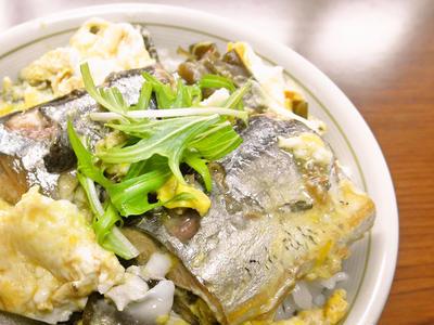 秋刀魚丼(プチ丼)